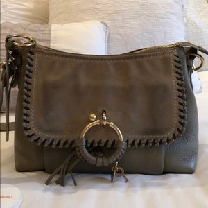 See By Chloe tan suede and leather bag
